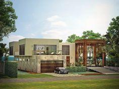 Tropical Modern House   Single Family, Custom   Architect Magazine