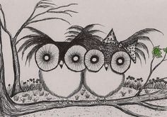 Yes I know more owls by InkyDreamz on DeviantArt