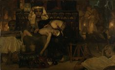 The Death of the Pharaoh's Firstborn Son, Lawrence Alma Tadema, 1872