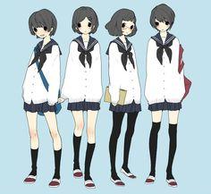 [pixiv] Sailor uniforms! - pixiv Spotlight