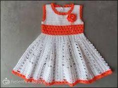 Image result for детское платье крючком