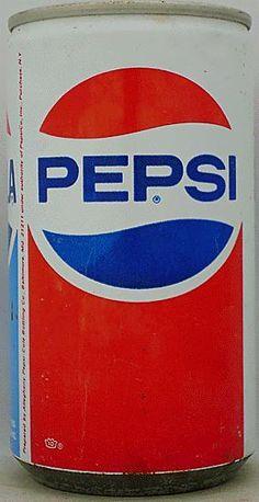 1972 - 12 ounce Pepsi can