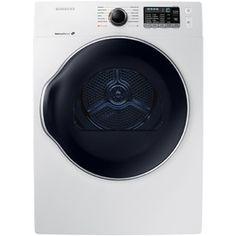 Samsung 4-Cu Ft Stackable Electric Dryer (White) Dv22k6800ew