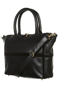 #Topshop #MustHave Leather Panel Tote