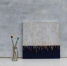 Modern painting 04 original painting12x 2x06 by AtelierMaltopf