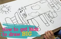 Getting-kids-to-draw-large