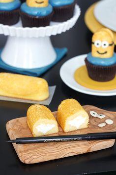 Despicable Me Minion Cupcakes - Recipe!