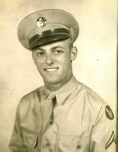 John Wrana in his Army Air Corps uniform in 1943.