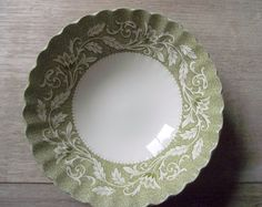 Meakin Lucerne Coupe Cereal Bowls  / Set of 4 by gazaboo on Etsy