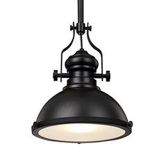 Retro style Pendant Light black Industrial Vintage Lamp For Warehouse Restaurant Cafe Hotel with lamp holder KUNG brand Industrial Chandelier, Kitchen Pendant Lighting, Kitchen Pendants, Industrial Lighting, Vintage Lamps, Vintage Industrial, Vintage Metal, Piano Lamps, Drop Lights