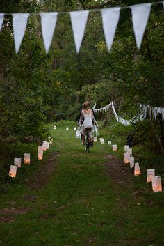 Natalie & Kahlil's handmade river wedding in Virginia
