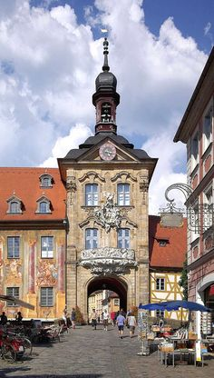 Awesome Old Town Hall in Bamberg Franconia Bavaria Germany