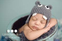 FREE SHIPPING Baby hippo newborn/ baby hat. Perfect baby shower gift or photography prop on Etsy, $22.42 AUD