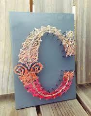 Resultado de imagen para string art letters
