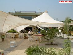 Tensile #structures has swept the #Indian market and it's a common sight to see on almost everywhere, right from a #parking lot to airport, form a stadium to a #shopping mall.