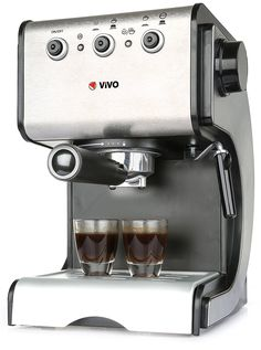 Vivo © Stainless Steel 1050W 15 Pump Espresso Coffee Maker Machine With Cup Warming Frother Professional