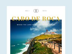 Cabo De Roca by Rocco Gallo