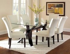 Berkley Dining Room Set. Glass Top Dining TableDining ...