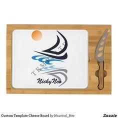 Custom Template Cheese Board