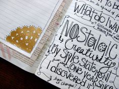 Doodle Journaling Ideas