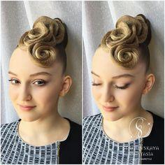 """854 Likes, 6 Comments - Sergievskaya Anastasia (@sergievskaya_stylist) on Instagram: """"@horomik ✨✨✨ Makeup&Hairstyle by @sergievskaya_stylist #muah #hairstyle #stylist #ballroomdance…"""""""