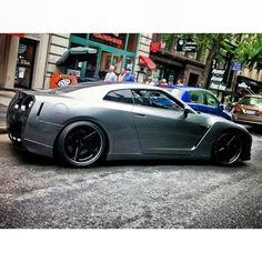 http://chicerman.com  majestix:  #repost Thoughts on the wingless GTR? Photographer ? #majestic_cars #carporn #cargasm #cars #automotive #carswithoutlimits #carinstagram #ikonic_rides #sickcar_mag #motor_head_ #nissan #nismo #skyline #gtr #r35 #godzilla #hulk  #cars