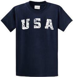 USA Logo T-Shirt.