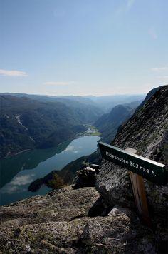 Hiking in Odda, Hardanger, Norway