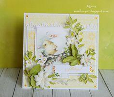 Yellow Easter card - Scrapbook.com