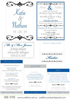 Katie & Nathan wedding Stationery Mr And Mrs Jones, Can Design, Business Branding, Party Printables, Wedding Stationery, All Things, Reception, Receptions, Wedding Invitations