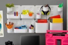 The Oakland firm Urbio designed this modular system as a way for space-starved city dwellers to have an indoor garden, but the magnetic wall panels and coordinating containers can be used as a desk or toy organizer. Storage components can be rearranged in seemingly infinite ways and have strong magnets with weight capacities of 1.25 to 14 pounds. Sold as two-panel ($75) and six-panel ($175) sets through www.yliving.com.