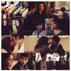 Brandon and Callie The Fosters