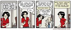 PHD Comics: Set your timer (by Jorge Cham 10/3/2012) #phdchat