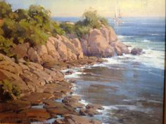 Photo: Congratulations Cindy Baron on your sold painting Sunkissed  Harbor Fine Art