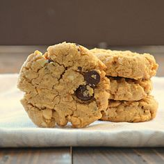 Gluten Free Peanut Butter Oatmeal Chocolate Chip Cookies | Tasty Kitchen: A Happy Recipe Community!