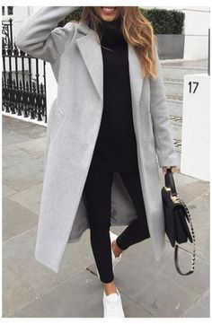 Casual Winter Outfits, Winter Fashion Outfits, Classy Outfits, Look Fashion, Trendy Outfits, Fall Outfits, Black Outfits, Fashion Women, Winter Outfits Women