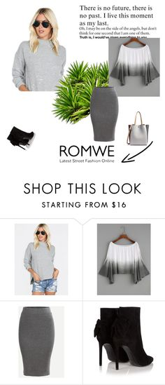 """Romwe 20"" by zerina913 ❤ liked on Polyvore featuring Yves Saint Laurent and romwe"