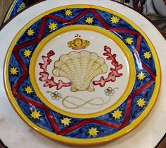 Il Palio - The Contrade of Italy - Italian Pottery Outlet Italian Pottery, Decorative Plates, Hand Painted, Italy, Ceramics, Tableware, Handmade, Ceramica, Italia