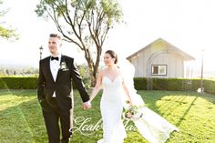 Bride and Groom Pose Idea l Leah Marie Photography l Callaway Winery Temecula CA