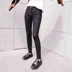 26.94$  Watch now - https://alitems.com/g/1e8d114494b01f4c715516525dc3e8/?i=5&ulp=https%3A%2F%2Fwww.aliexpress.com%2Fitem%2FKorean-irregular-tear-edge-elastic-pencil-pants-Slim-was-thin-embroidered-high-waist-jeans-female-trousers%2F32782024944.html - Korean irregular tear edge elastic pencil pants Slim was thin embroidered high waist jeans female trousers 26.94$