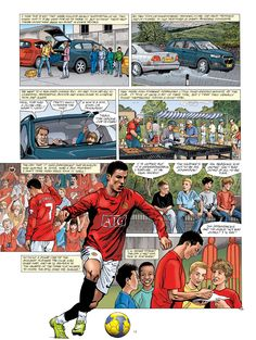 The brand new @manutd graphic novel by Philippe Gogowski is the best way for you to delve into the club's rich history this New Year.