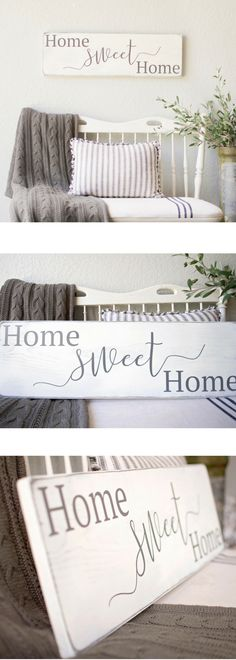 Home Sweet Home sign, home sweet home, home signs, sweet home sign, home sweet home wood sign, cozy living room, living room décor ideas, farmhouse decor