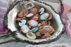 .vintage cameo collection