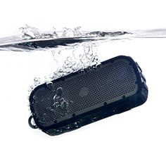 TimoLabs Corbett I S 2nd Gen Rugged and Waterproof Wireless Bluetooth Speaker Black >>> Click affiliate link Amazon.com on image for more details.