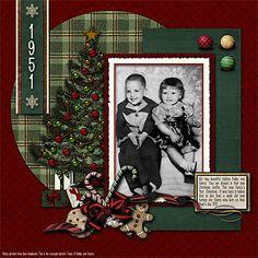 Christmas Memories Layout
