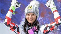 Anna Fennonger es dos veces campeona de Copa del Mundo y oro Olímpico de esquí Alpino