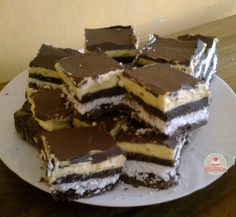 Hungarian Recipes, Tiramisu, Food And Drink, Cookies, Chocolate, Baking, Ethnic Recipes, Mascarpone, Crack Crackers