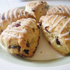 """Simple SconesI """"These are so good, and extremely versatile. I added dried cranberries and white chocolate chips, and they were fabulous!"""""""