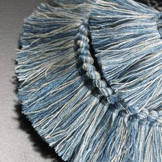 POD006 Rouche col. 005 by Dedar - Two-coloured tufted braid, washable and also for outdoor use.