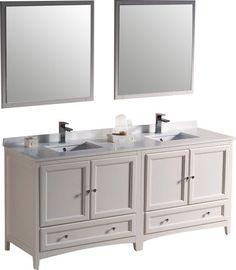 silkroad exclusive 72 in dark walnut double sink bathroom vanity rh pinterest com